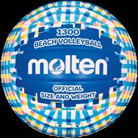 Molten Beachvolleybal V5B1300-CB Cyaan blauw