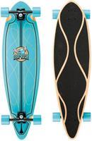 Osprey longboard Helix 91 x 24 cm esdoorn blauw/zwart