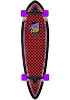Santa Cruz Rad Dot Pintail Checkered 33 Red - Cruiser Complete