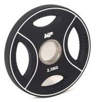 Muscle Power PU 4-Grip Halterschijf - 50 mm - 2,5 kg