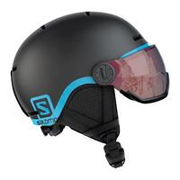 Salomon Grom Visor Black 399 163 junior helm