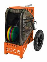 Disc Golf Cart Realtree Camo/Oranje