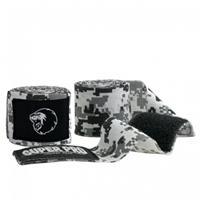 Super Pro bandages Combat Gear katoen zwart/wit 250 cm