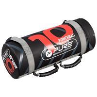 Pure2Improve powerbag 10 kg 53 x 22 cm nylon zwart/rood