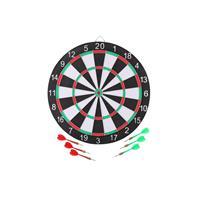 Master Darts Dartbord - Met 6 Pijltjes,