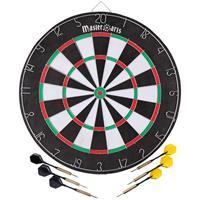 Masterdarts Dartbord - Met 6 Dartpijlen En 6 Flights - Darts