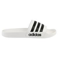 Adidas Badslippers Cloudfoam Adilette Wit Zwart