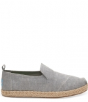 Toms 10009838 Drizzle Grey Damesloafers