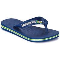 Havaianas Brasil Logo Kids 4110850.0555.I25 Blauw-30 maat 30