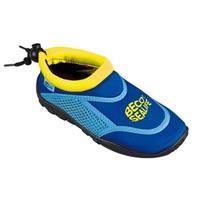 UV-Zwemkleding BECO -Neoprenbadeschuhe blau Gr. 22/23