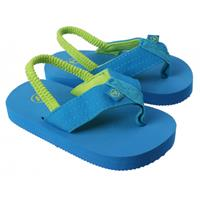 Yello teenslippers blauw jongens