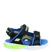 Skechers S-Lights sandalen zwart