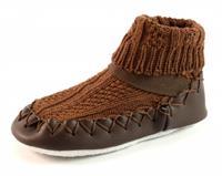 Stoute-schoenen.nl Bardossa sokpantoffels Bruin BAR57