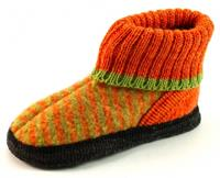 Stoute-schoenen.nl Litha hutsloffen kids Oranje LIT08