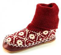 Stoute-schoenen.nl Litha sokpantoffels Rood LIT22