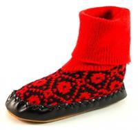 Stoute-schoenen.nl Litha sokpantoffels Zwart LIT24