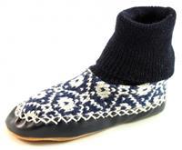Stoute-schoenen.nl Litha sloffen Blauw LIT02