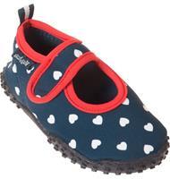 Playshoes waterschoenen meisjes navy/rood /27