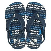 Reef Reef Little ahi water sandalen blauw