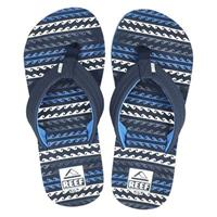 Reef Kids AHI slippers blauw