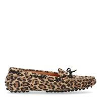 Manfield x Annic Panterprint loafers