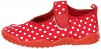 Playshoes waterschoenen stippen meisjes rood/wit /33