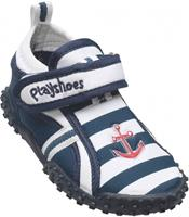Playshoes waterschoenen marine junior blauw/wit /33