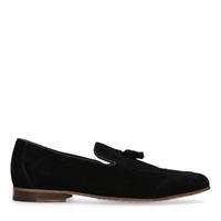 Sacha Zwarte loafers met kwastjes - zwart