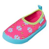 Playshoes Aqua-Slipper Bloemen roze - Roze/lichtroze - - Meisjes