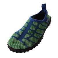Playshoes waterschoenen gebreid groen 8/19
