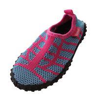Playshoes waterschoenen gebreid roze 8/19