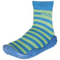 Playshoes zwemsokken junior blauw/groen 8/19