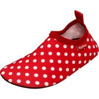 Playshoes UV-bescherming Aquaschoen uni rood - Rood - - Meisjes