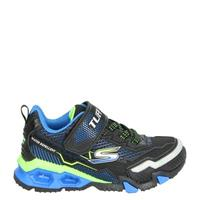 Skechers Tuff Tech S-Lights lage sneakers zwart