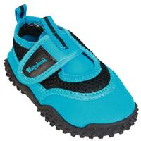 Playshoes waterschoenen neon junior blauw /27