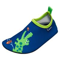 Playshoes waterschoenen krokodil uv-bescherming navy