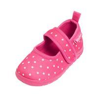 Playshoes Slipper stippen roze - Roze/lichtroze - - Meisjes