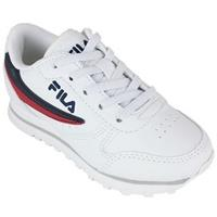 Fila Nette schoenen orbit low kids white/dress blue