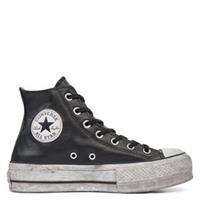 Converse Chuck Taylor All Star Leather Smoke Platform High Top
