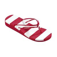 Beco teenslippers dames rood/wit
