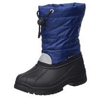 Playshoes Winter Boatie marine - Blauw - - Jongen