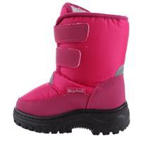 Playshoes snowboots met klittenband junior roze /21