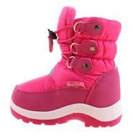 Playshoes snowboots met koord junior roze /21