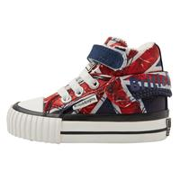British Knights ROCO BABY MEISJES SNEAKERS HOOG, RED,, NYLON