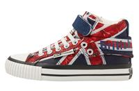 British Knights ROCO MEISJES SNEAKERS HOOG, RED,, NYLON