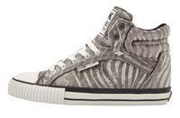 British knights DEE DAMES SNEAKERS HOOG, GREY,, POLYESTER