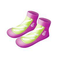 Beco zwemsokken Sealife meisjes neopreen roze/groen 23