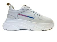 Witte  Sneakers Combi Fantasy