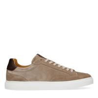 Manfield Taupe suède sneakers