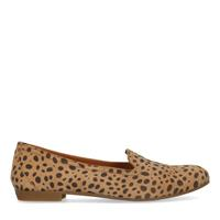Sacha Cheetahprint loafers - beige